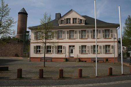 Altes Amtshaus an der Burg Nohfelden