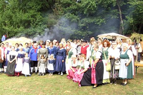 Tanzgruppe des SVT